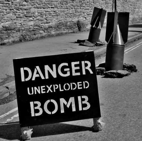 Karas, Ženklas, Ww2, Pavojus, Bomba, Pasaulinis Karas 11, Pasaulinis Karas 2