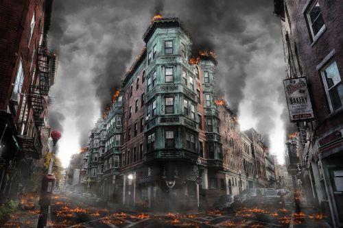 karas,sunaikinimas,Armagedonas,nelaimė,apokaliptinis,pragaras,paliktas