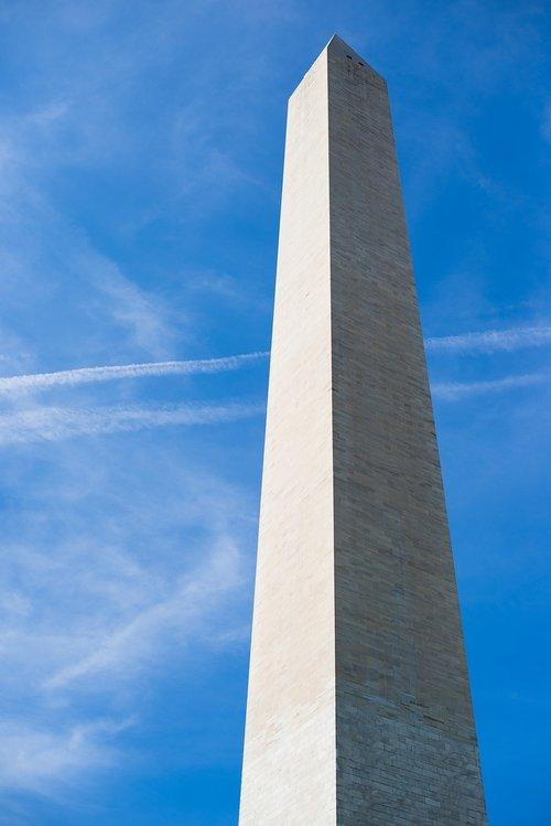 Vašingtonas, Vašingtonas paminklas, paminklas, Vašingtonas, architektūra, JAV, Capitol, turizmas