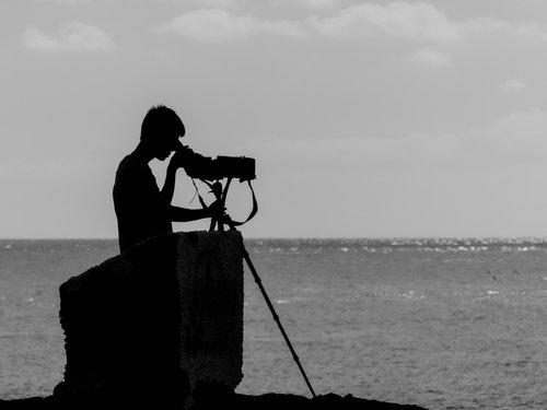 žiūrėti, Žiūronai, Peržiūrėti, vizija, teleskopas, perspektyvos, kelionė, požiūris, saugokis, atostogos, stebėjimas, vyras, Paieška, paukščių stebėjimas, vasara, turistų, banginių stebėjimas, jūra, žmogus, laisvalaikis, kraštovaizdis, vandens, dangus, nuotykis
