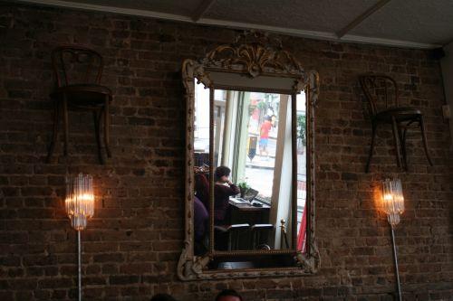 veidrodis, žiūri, stiklas, stebuklų kraštas, Alice, perspektyva, abstraktus, žiūri iš stebuklų