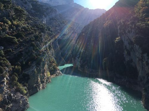 vanduo,kanjonas,saulė,milžiniškas,Rokas,Gorge,giliai