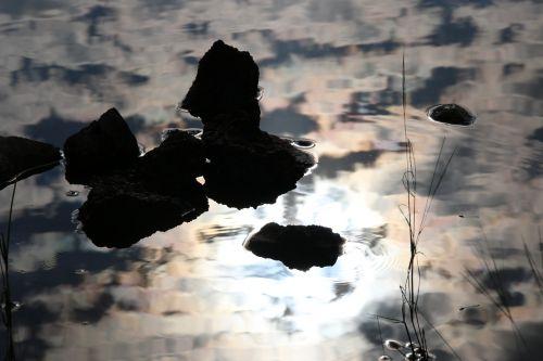 Vanduo,  Atspindys,  Iš Arti,  Lauke,  Šviesa,  Paviršius