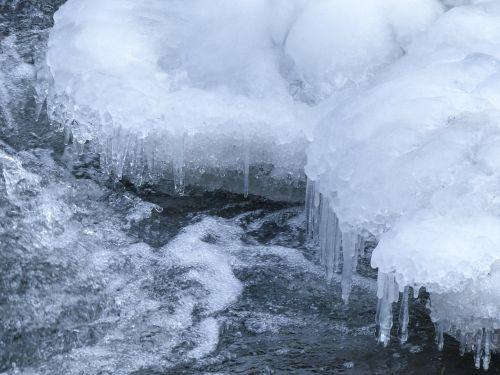 vanduo kritimo,sušaldyta,ledas padengtas,Ledo šaltumo,gamta,žiema,natūralus