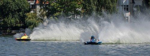 vandens sportas, Motorinė valtis rasės, Sportas, lenktynių, Motorsport, lenktynių valtis, lenktynės, vandenys, motorinis, Grünau, automobilių lenktynių valtis, vasara, greitis, varzybos