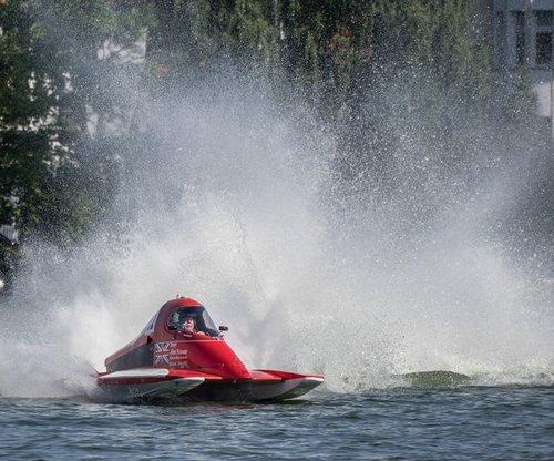 vandens sportas, Motorinė valtis rasės, Sportas, lenktynių, lenktynių valtis, lenktynės, Berlynas, motorinis, Grünau, varzybos, automobilių lenktynių valtis, greitis