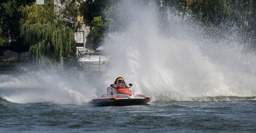 vandens sportas, Motorinė valtis rasės, lenktynių, lenktynių valtis, Berlynas, motorinis, Grünau, varzybos, automobilių lenktynių valtis, greitas, greitis, vasara
