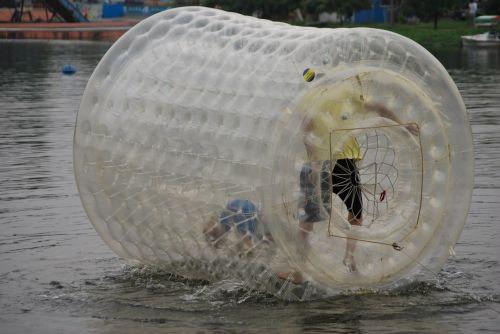 vanduo, ratas, žmonės, linksma, nugara, šlapias, vasara, vandens ratas