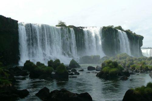 krioklys,Brazilija,iguaçu,iguazú kriokliai,kriokliai