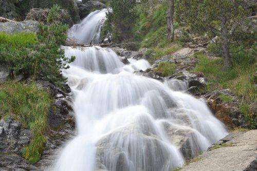 Krioklys, Šilko Efektas, Tekantis Vanduo, Vanduo Virš Akmenų, Huesca, Upė, Gamta, Vanduo