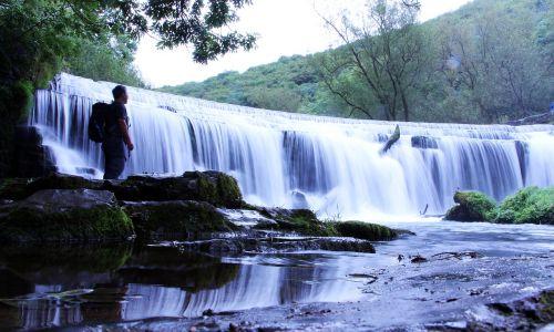 krioklys,piko rajonas,Šalis,gamta,upė,srautas,Britanija,kraštovaizdis,srautas,Derbyshire,miškas,judėjimas,vanduo,piko,rajonas