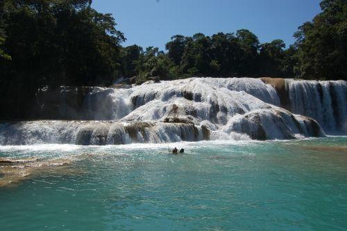 krioklys,vanduo,teka,skuba,gamta,turkis,aišku,kraštovaizdis,natūralus,kaskados,vaizdingas,dykuma,akmenys,Meksika,natūralus vanduo,mėlynas,baseinas