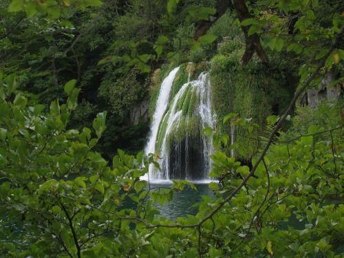 krioklys,kroatija,ežeras,gamta,plitvice