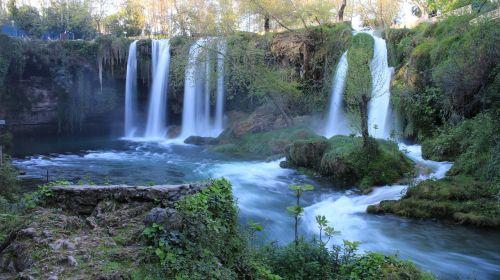 krioklys,krioklys antalya,Turkija,kraštovaizdis,upė,purslų,Antalija,vanduo,parkas,gamta,Dudeno krioklys,turizmas,srautas