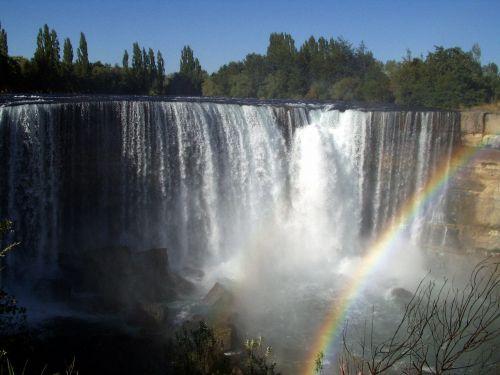 krioklys,vanduo,jėga,vandens masė,purkšti,upė,vandens masės,čile,laja bylos,río de la laja,bío bío