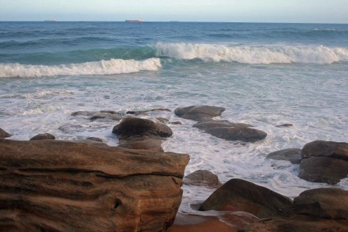 Bangos,  Plyšimas,  Valcavimo,  Jūra,  Vanduo,  Vandenynas,  Akmenys,  Papludimys,  Bangos Eina Į Krantą