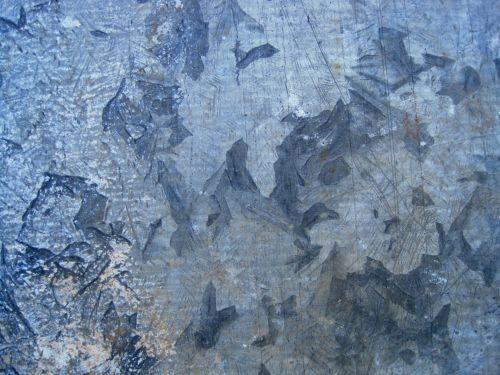 lakštas, metalas, cinkuota, ištemptas, raštuotas, metalinis & nbsp, mėlynas, lauke, ištemptas cinkuotas metalinis lakštas