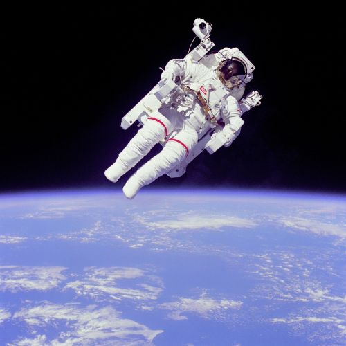 Nesvarus, Plūdė, Astronautas, Bruce Mccandless, Kosmoso Eismas, Kosmoso Kelionės, Nasa, Erdvė, Žemė, Planeta, Visata, Astronautika, Vienatvė, Vienišas, Vienas