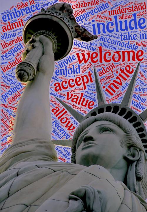 Sveiki,laisvė,įtraukti,amerikietis,statula,simbolis,paminklas,laisvė,pakviesti,priimti,imigracija,apimti,usa,turizmas,kelionė
