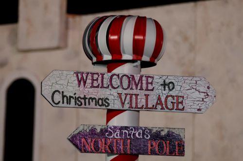 Sveiki, į, Šiaurė, pole, ženklas, Kalėdos, naujas, metai, švesti, Sveiki atvykę į šiaurės polių ženklą