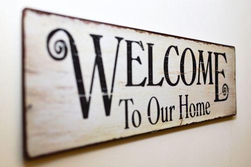 Sveiki atvykę į mūsų namus,Sveiki,tablėtė,masyvas,reklama,apdaila