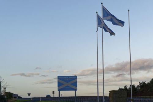 sveiki & nbsp, į & nbsp, Škotiją, sienos, škotiškas & nbsp, sienos, Škotija, vėliava, uk, vieta, ženklas, ženklas, Sveiki, žemė, kelias, saltire, škotų, mėlynas, balta, perėjimas, Sveiki atvykę į Škotlandą 1
