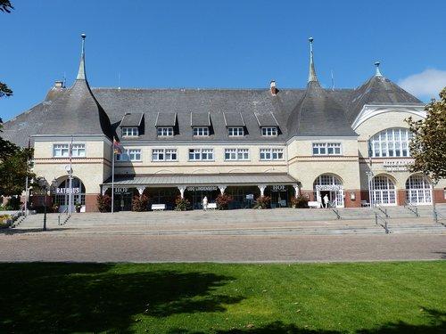 Westerland, Sylt, Šiaurės jūra, Rotušės, Kazino, žaidimas kazino, istoriškai, laiptų, erdvė, Fryzija