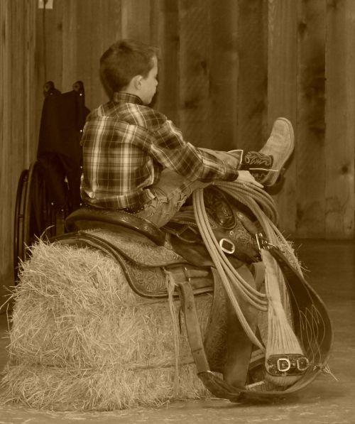 Vakarų,vaikas,kaubojus