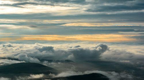 Vakarų gatas,kraštovaizdis,gamta,debesys