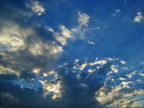 dangus, debesis, skleisti, balta, mirgėjimas, baltas debesis skleisti