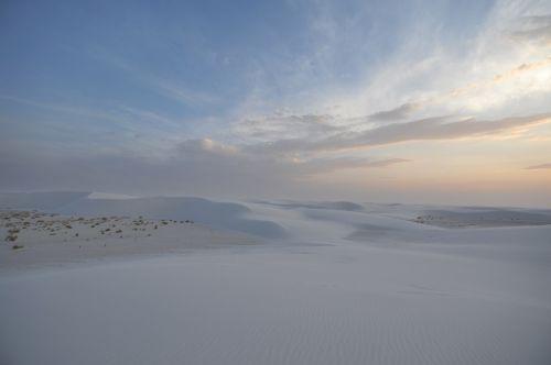 balta, smėlis, nacionalinis, paminklas, naujas, Meksika, smėlis, dykuma, balta, dykuma, saulėlydis, dangus, debesis, balta smėlis 7