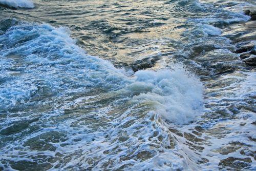 jūra, vandenynas, vanduo, naršyti, putos, balta, neramus, baltos naršyti jūroje