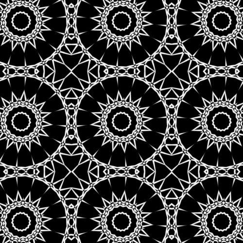 tapetai, fonas, balta, ratai, modelis, simetriškas, piešimas, menas, abstraktus, balti ratai