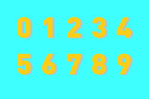 sveikas, numeriai, fonas, suskaičiuoti, nulis, sveikieji skaičiai, Matematika, mokytis, teigiamas, 0 & nbsp, - & nbsp, 9, Sveiki skaičiai