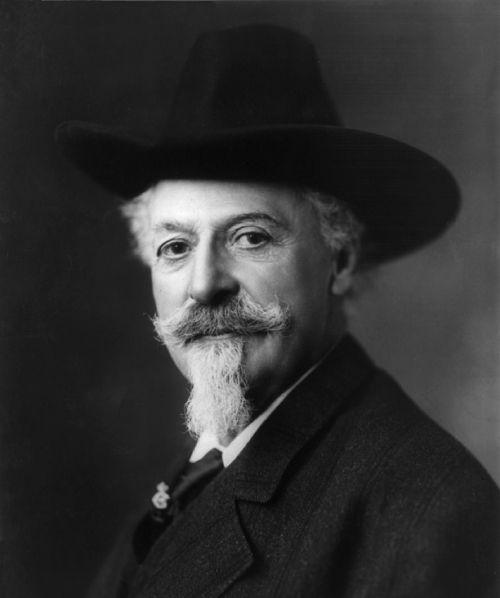 William Cody,Vakarų,kaubojus,atlikėjas,buifelio užstatai,senas vakaras,istorija,vintage,vienspalvis,juoda ir balta,pramogų atlikėjas,showman