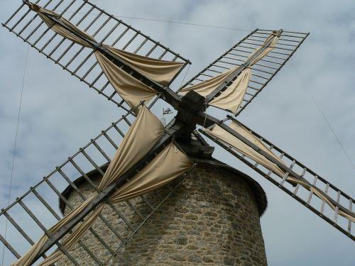 vėjo malūnas,kaimas,senas,france,vėjas,Žemdirbystė,malūnas,energija,ūkis,dangus,tradicinis,turbina,architektūra