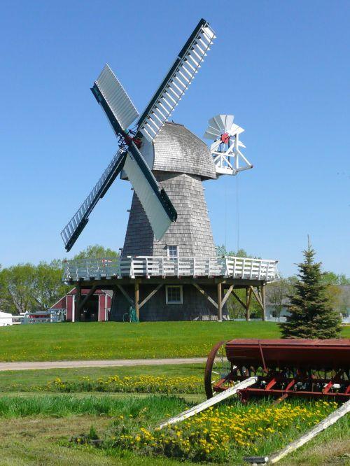 vėjo malūnas,steinbach,Mennonito palikuonys,manitoba,Kanada,pastatas,Miestas,kaimas