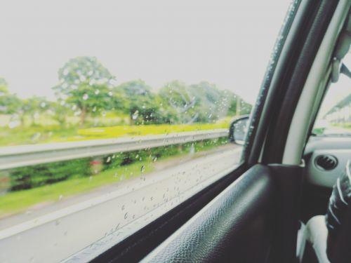 langas,lietus,automobilis,sėdi,oras,musonas,Indija,bangalore,į pietus,Pietų Indija