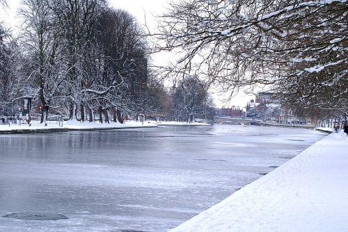 žiema,ledas,upė,vaizdingas,sušaldyta,lauke,balta,sezonas,sniegas,vaizdingas