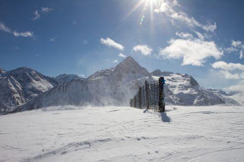Žiema, Sniegas, Alpių, Ötztal, Kalnai, Sniego Kraštovaizdis, Žiemą, Ötztal Alps, Vent, Slidinėjimo Zona, Žiemos Magija, Austria