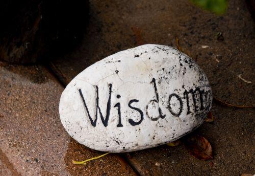 išmintis, pranešimas, Rokas, ruda, tan, apvalus, išmintis