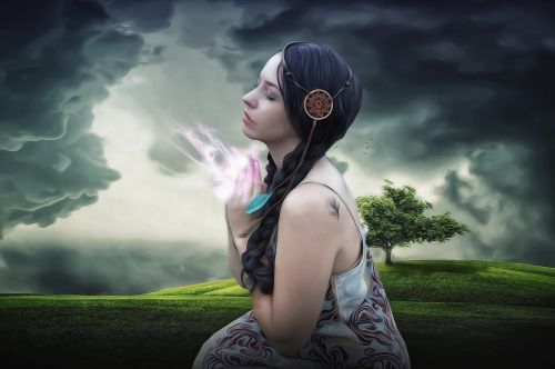moteris,Moteris,grožis,Lady,dvasingumas,melstis,melstis dėl lietaus,melstis už gaia,fantazija,fantazijos portretas,portretas,magija,svajonė,medis,pilkas dangus