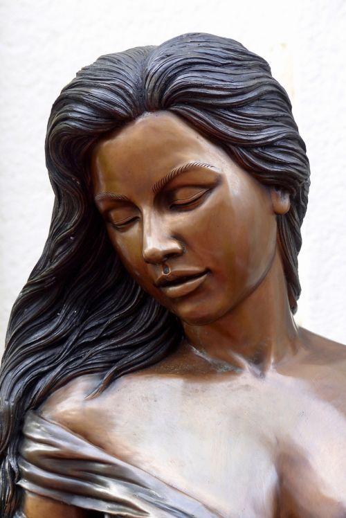 moteris,bronza,grožis