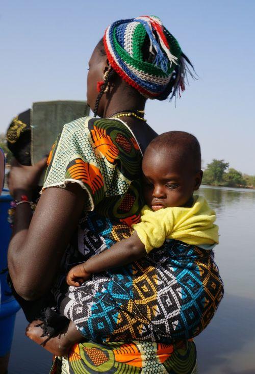 moteris,vaikas,vežti,Afrikos,juoda,kūdikis,mama