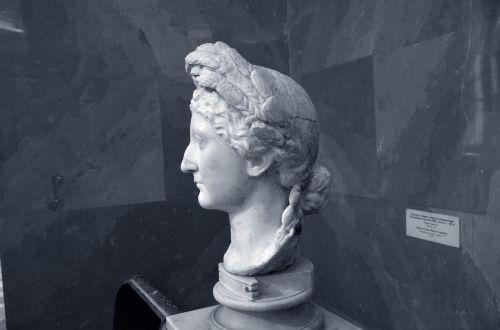 moterys & nbsp, galva, moteris, galva, statula, senovės, Senovinis, romėnų, graikų kalba, senas, meno, menas, istorinis, moters galva