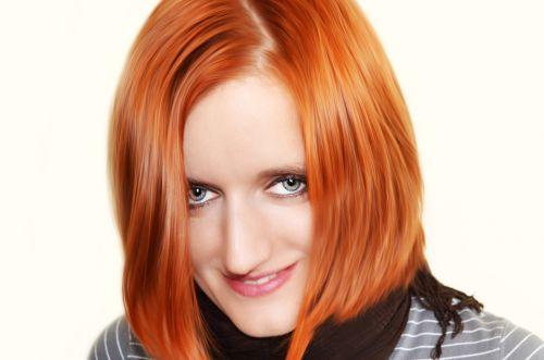 moteris, plaukai, raudona, šukuosena, spalva, gražus, laimingas, supjaustyti, šiuolaikiška, jaunas, veidas, akys, akis, vaizdas, Plaukų stilistas, stilius, portretas, žmonės, moteris su raudonais plaukais
