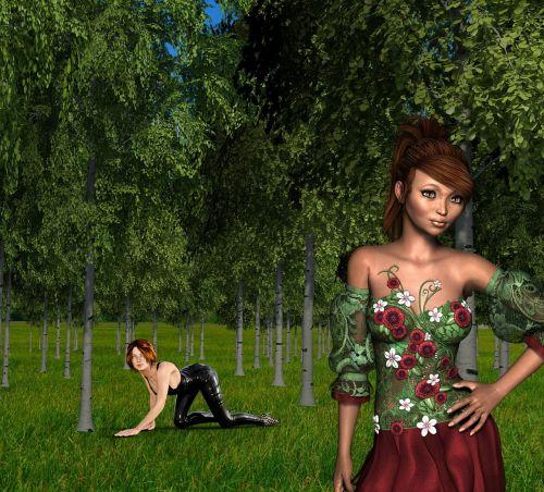 moterys,miškas,gėlė,augalas,veidas,gražus,miško gėlė,jausmas,saulės šviesa,požiūris į gyvenimą,Moteris,pavasaris,gamta