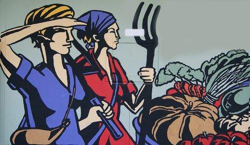 moterys, dirbti, Žemdirbystė, kovas 8, Kovas 8, verslumas, atlikti, ekologija, feminizmas