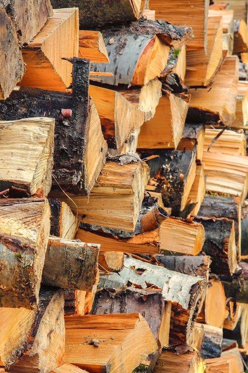 mediena, prisijungti, medienos, medienos židinys, sausas, Sukrauta, medžių kamienus, medienos ruoša, medienos pjaustyti, sukrauti, buko, ąžuolo, Eglė, geltona, rudi, žievė