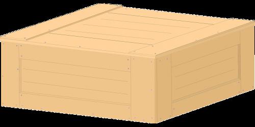 medinė dėžė,dėžė,kroviniai,atvejis,dėžė,mediena,nemokama vektorinė grafika